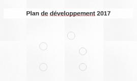 Plan de développement 2017