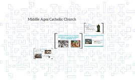 Middle Ages Catholic Church