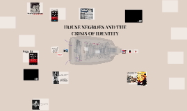 HOUSE NEGROES AND THE CRISIS OF IDENTITY