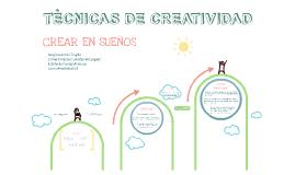 TÈCNICAS DE CREATIVIDAD