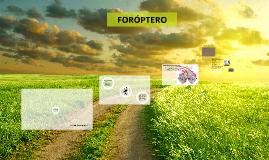 FORÓPTERO
