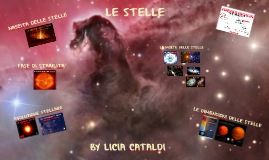 Le stelle : nascita evoluzione e morte