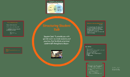Structuring Student Talk: Part 1