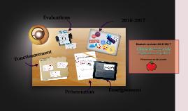 Copy of Rentrée scolaire 2016-2017