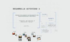 DESARROLLO ACTIVIDAD 3