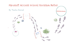 Microsoft Access A-level revision Notes
