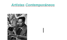 Artistas Contemporáneos