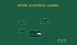 MOTOR ELECTRICO CASERO
