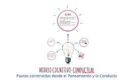 MODELO COGNITIVO-CONDUCTUAL