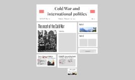 Cold War and international politics