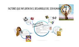 Copy of FACTORES QUE INFLUYEN EN EL DESARROLLO DEL SER HUMANO