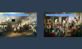 Chapter 7: The War for America, 1775-1783