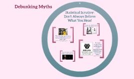 Debunking Human Trafficking Myths