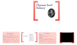 Clarissa Scott Delany