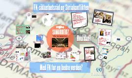 AUF - FNs-sikkerhetsråd og syriakonflikten