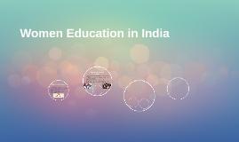 Women Education in India