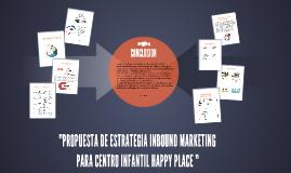 PROPUESTA DE ESTRATEGIA INBOUND MARKETING
