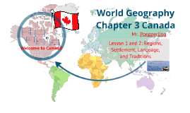World Geography Chapter 3 Lesson 1 and 2
