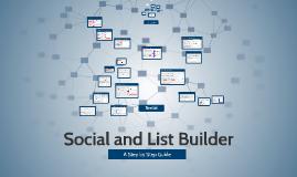 Social and List Builder | Comm Tech Assignment