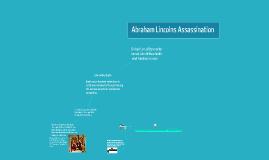 Abraham Lincolns Assassinanation
