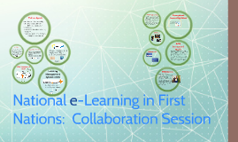 National e-Learning - Collaboration Session