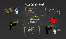 Kappa Delta Pi Benefits