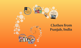 Clothes from Punjab, India
