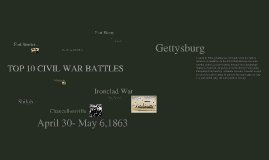 Top 10 Civil War Battles