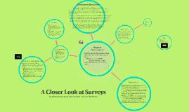 Surveys: An HPS Presentation