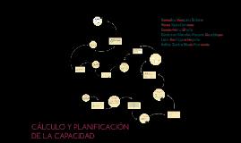 CÁLCULO Y PLANIFICACIÓN DE LA CAPACIDAD