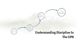 Copy of Understanding Discipline in the UPS