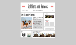 Copy of Soldiers and Heroes