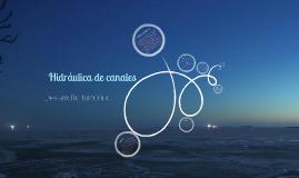 Copy of Historia de la hidráulica de canales