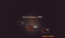 Aulas de dança - UFSC