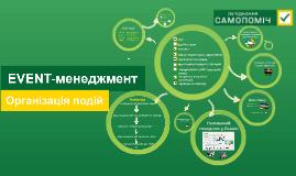 Copy of Event - менеджмент. Організація подій.
