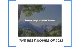 THE BEST MOVIES OF 2012
