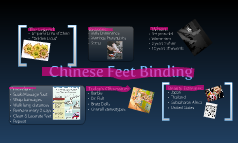 Chinese Feet Binding