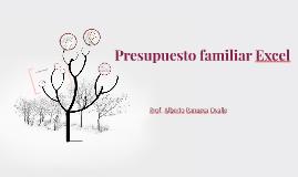 presupuesto familiar excel by alberto panuera on prezi