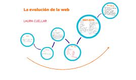 La evolución de la web.
