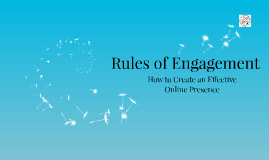 Copy of Copy of Rules of Engagement: