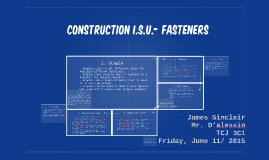 Construction I.S.U.- Fasteners