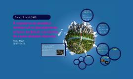 A trajetória ambiental e o planejamento urbano no BR