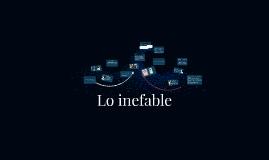 Copy of Lo inefable