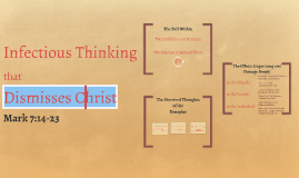Infectious Thinking that Dismisses Christ