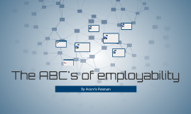 The ABC's of employability
