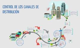 CONTROL DE LOS CANALES DE DISTRIBUCIÓN