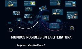 MUNDOS POSIBLES EN LA LITERATURA- NM2