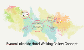Byoum Lakesite hotel Walking Gallery Concept