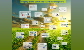 Tragedy of the commons - Earth's atmosphere