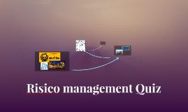 Risico management Quiz
